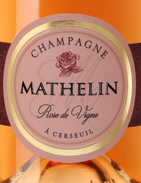 Champagne Mathelin Rose de vigne brut