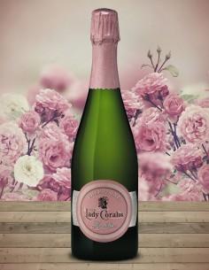 Champagne brut œil de perdrix Lady Coralie