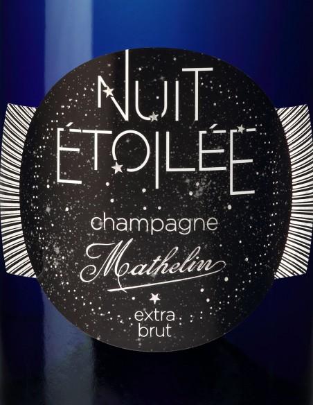 Champagne Mathelin Nuit étoilée extra brut