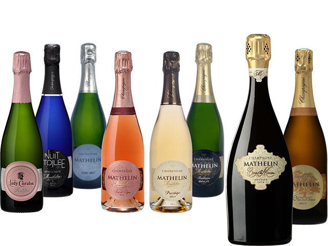 Champagne Mathelin wines