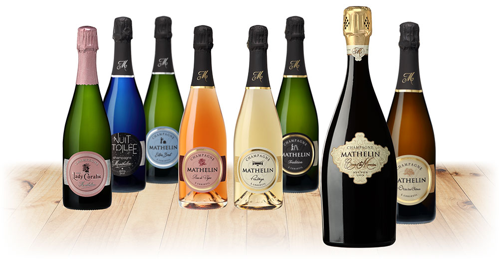 Our wines Champagne Mathelin