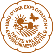 Issu d'une exploitation haute valeur environnementale